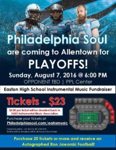 Philadelphia Soul Fundraiser