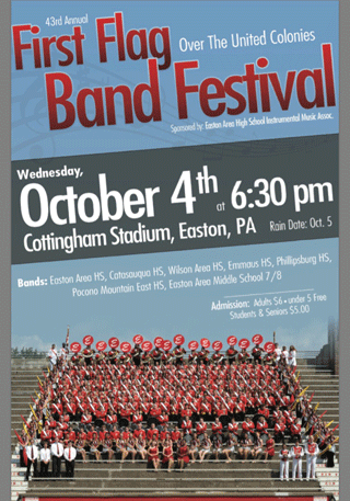 First Flags Band Festival October 4, 2017